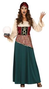 Gipsy waarzegster kostuum voor dames