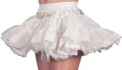 Petticoat Luxe voor Kinderen - wit/zilver