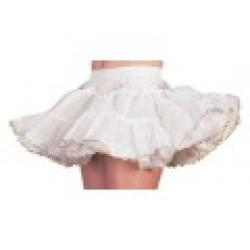 Petticoat Luxe voor Kinderen - wit/goud