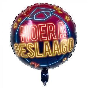 Folieballon 'Hoera Geslaagd'
