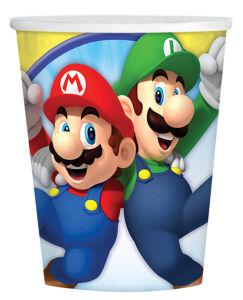 Papieren bekertjes Super Mario