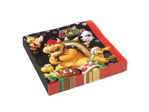 Papieren servetten Super Mario