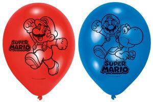 Latex ballonnen Super Mario klein
