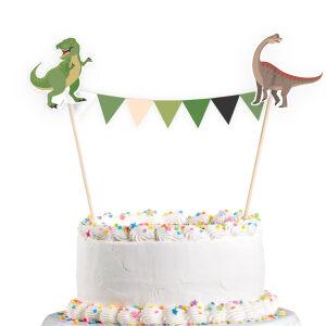Taartdecoratie Dinosaurus