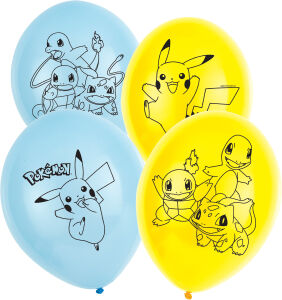 Latex ballonnen Pokemon