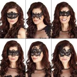 Kanten oogmasker Assortiment Masquerade
