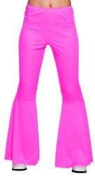 Flarebroek roze valt als S/M/L stretch
