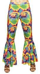 Flarebroek Hippie valt als S/M/L stretch
