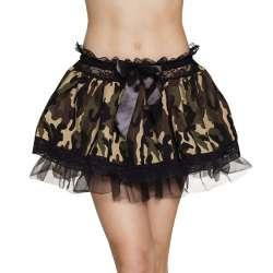 Minirokje Camouflage Leger