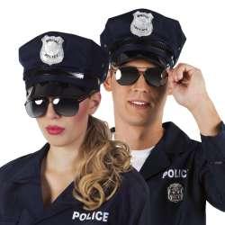 Bril ''Politie'' - zwart