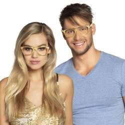 Partybril zonder glazen - goud
