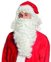 Pruik Kerstman met baard