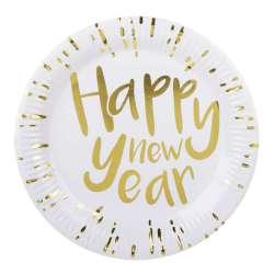 Set 6 Bordjes 'Happy New Year' (23 cm)