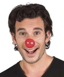 Set 6 Clownsneuzen plastic