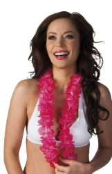 Hawaïkrans Ohana neon roze