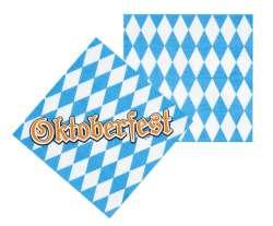 Servetten 'Oktoberfest' (33 x 33 cm)