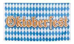 Polyester vlag 'Oktoberfest' (90 x 150 cm)