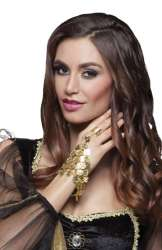 Handketting Belly dance (armband met ring)