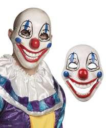 PVC gezichtsmasker Scary clown met beweegbare kaak