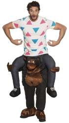Piggyback Funny gorilla - onesize