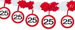 Slinger verkeersbord 25 jaar - 4 meter