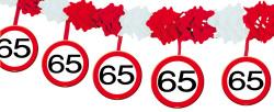 Slinger verkeersbord 65 jaar - 4 meter