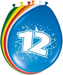 Ballonnen 12 jaar - 8 stuks