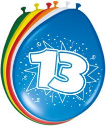 Ballonnen 13 jaar - 8 stuks