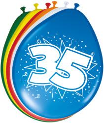 Ballonnen 35 jaar - 8 stuks