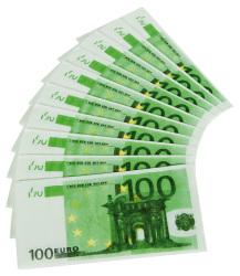 Servetten 100 Euro - 10 stuks