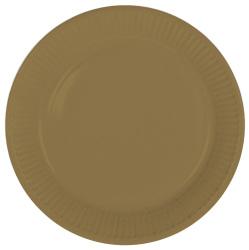 Borden papier goud - 23cm