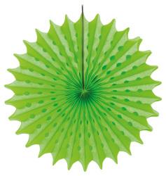 Honeycomb Fan Neon Green 45cm