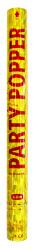 Party Popper confetti goud - 57cm