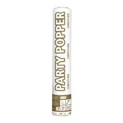 Party popper gouden en zilveren confetti - 26cm