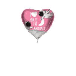 Folieballon ''I love you to the moon'' 45cm S40