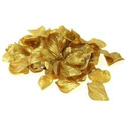 144 rozenblaadjes goud