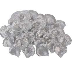 144 rozenblaadjes zilver