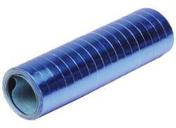 serpentines 4m metalic blauw