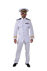 Herenkostuum Officier - wit