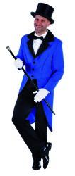 Slipjas Heren - blauw/zwart