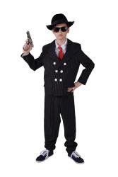 Gangster Pak voor Kinderen - zwart