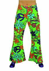Hippie Broek voor Dames Peace - groen