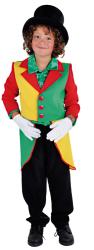 Slipjas voor Kinderen - rood/geel/groen