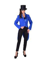 Slipjas voor Dames Cabaret - blauw