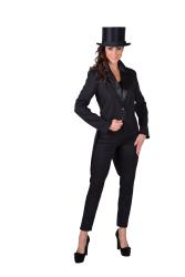 Slipjas voor Dames Cabaret - zwart