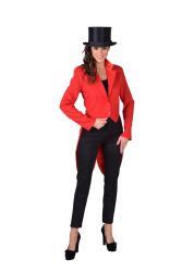 Slipjas voor Dames Cabaret - rood