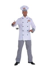Herenkostuum Chefkok - wit