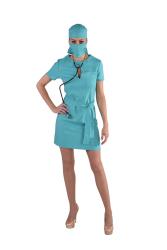 Sexy Chirurg Kostuum voor Dames