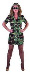 Dames Kostuum Militair - camouflage