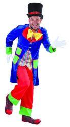 Herenkostuum Clown Lucky
